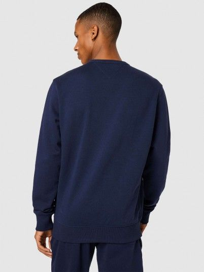 Sweatshirt Homem Entry Graphic Tommy Jeans
