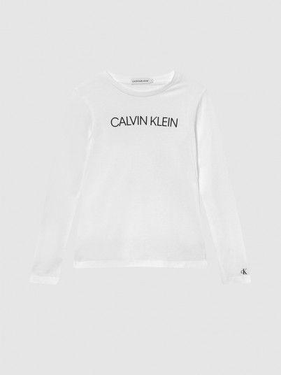 Sweatshirt Menino Institutional Calvin Klein