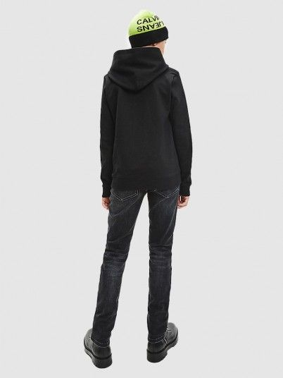 Sweatshirt Menino Monogram Calvin Klein