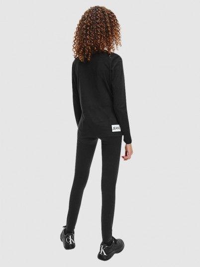 Sweatshirt Menina Institutional Logo Calvin Klein