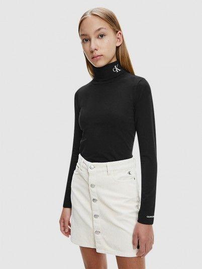 Sweatshirt Menina Monogram Calvin Klein