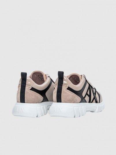 Sneakers Woman Beige Armani Exchange
