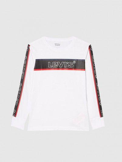 Swetshirt Menino Long Slv Graphic Levis