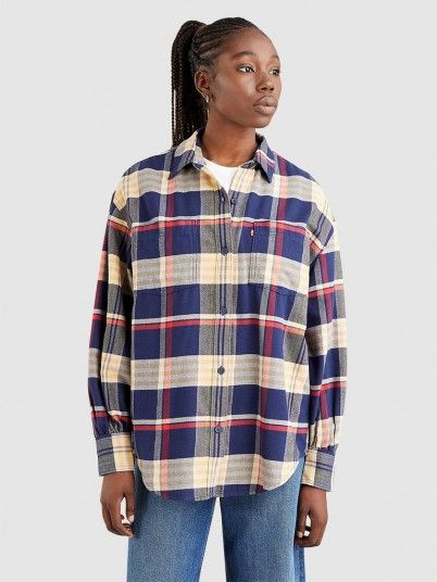 Camisa Mulher Remi Utility Levis