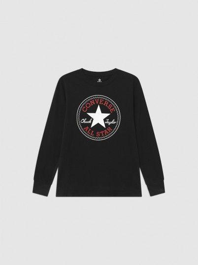 Sweatshirt Menino Chuck Patch Long Converse