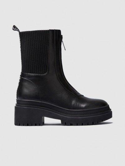 Boots Woman Black Pepe Jeans London