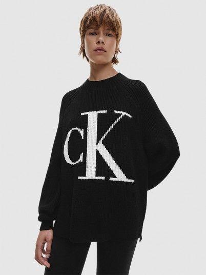 Malha Mulher Raglan Calvin Klein