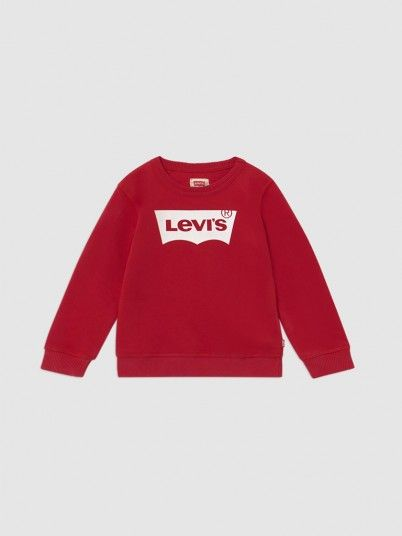 Sweatshirt Boy Red Levis