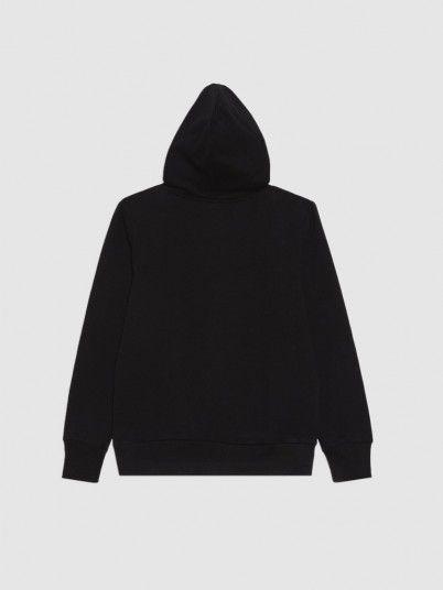 Sweatshirt Boy Black Levis