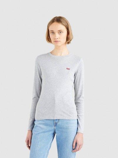 Sweatshirt Mulher Baby Levis