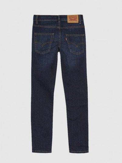 Jeans Menino Slim Taper Levis