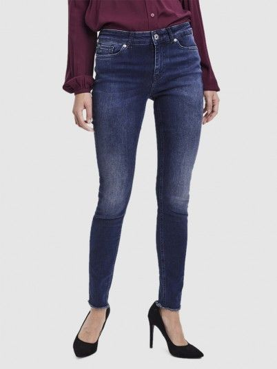 Jeans Mulher Peach Mr Skinny Vero Moda